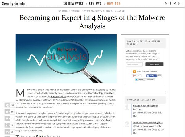 Becoming an Expert in 4 Stages of the Malware Analysis